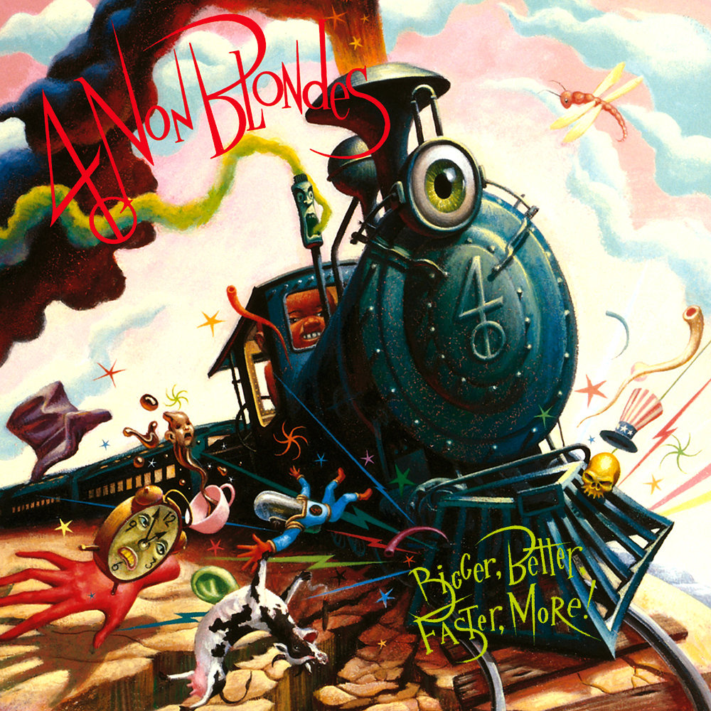[90's] 4 Non Blondes - What's Up (1992) 4%20Non%20Blondes%20-%20Bigger%20Better%20Faster%20More